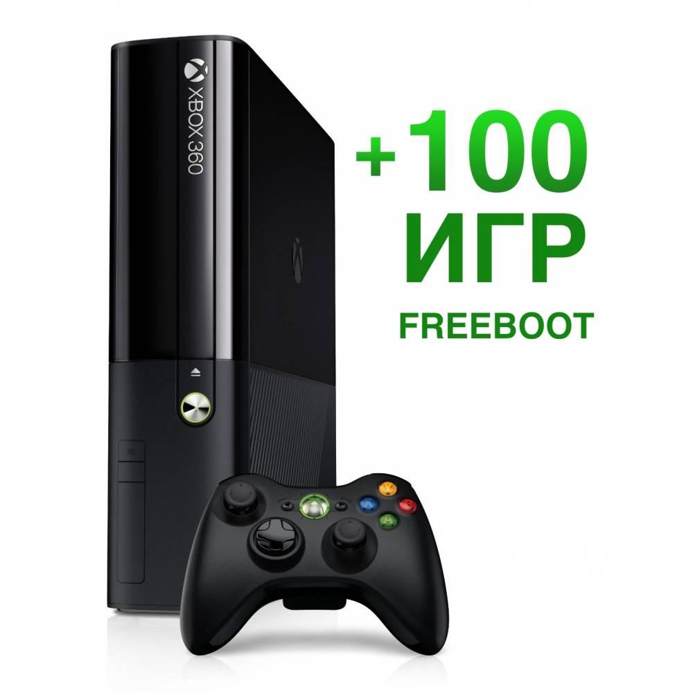 Microsoft Xbox 360 E 500 Гб (Freeboot) + 100 игр (Xbox 360 E) фото 2