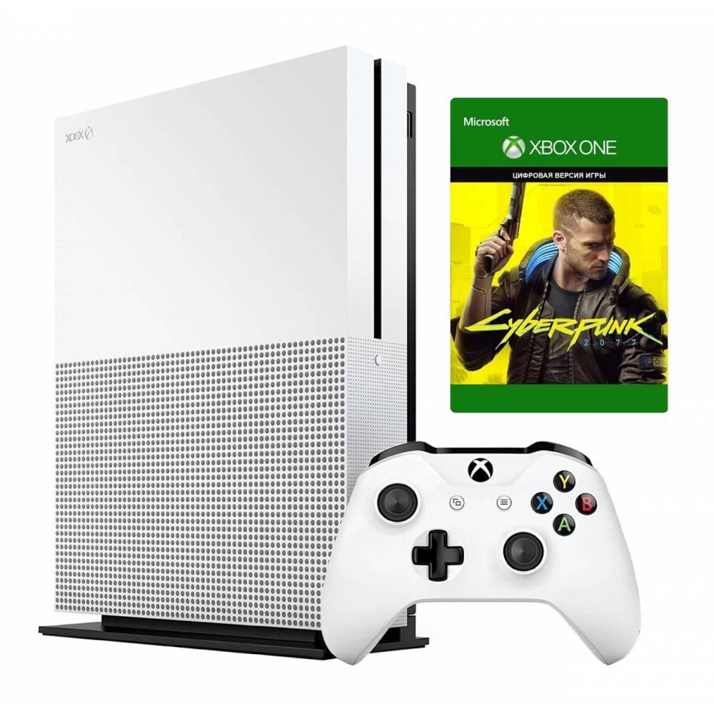 Microsoft Xbox One S 1 Тб + Cyberpunk 2077 (Xbox One S) фото 2