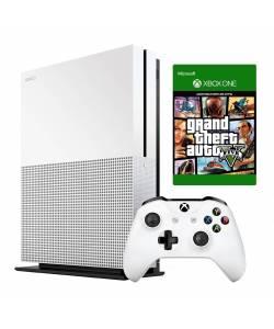 Microsoft Xbox One S 1 Тб + Grand Theft Auto V