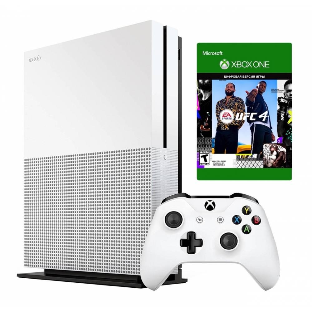 Microsoft Xbox One S 1 Тб + UFC4 (Xbox One S) фото 2