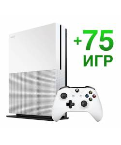 Microsoft Xbox One S 1 Тб + 75 игр