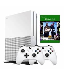 Microsoft Xbox One S 1 Тб + Xbox Wireless Controller + UFC4