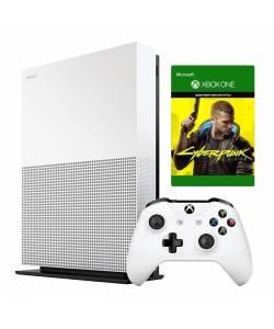 Microsoft Xbox One S 1 Тб All-Digital Edition + Cyberpunk 2077