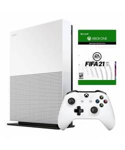 Microsoft Xbox One S 1 Тб All-Digital Edition + FIFA21