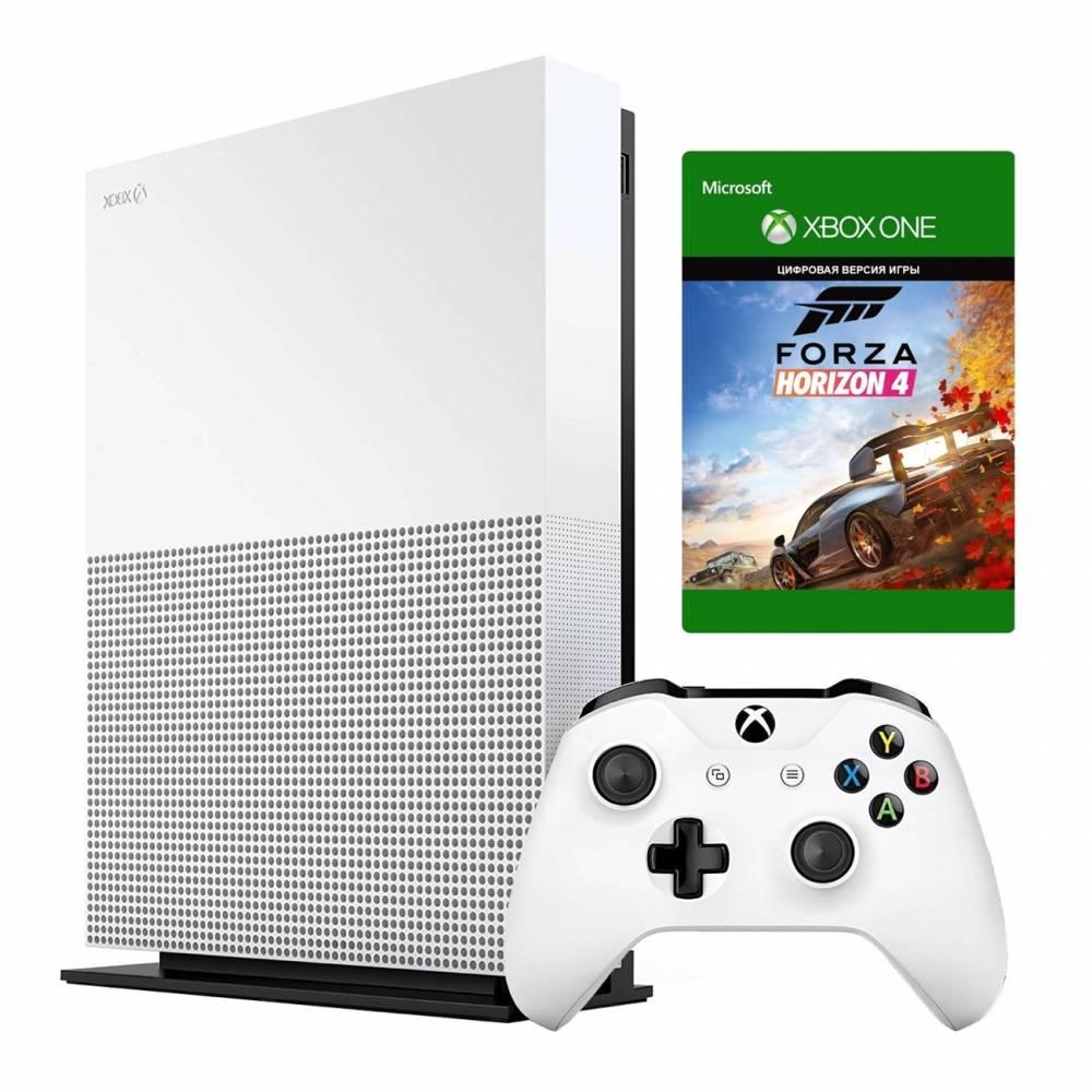 Microsoft Xbox One S 1 Тб All-Digital Edition + Forza Horizon 4 (Xbox One S All-Digital) фото 2