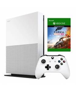Microsoft Xbox One S 1 Тб All-Digital Edition + Forza Horizon 4