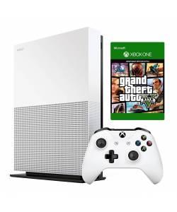 Microsoft Xbox One S 1 Тб All-Digital Edition + Grand Theft Auto V