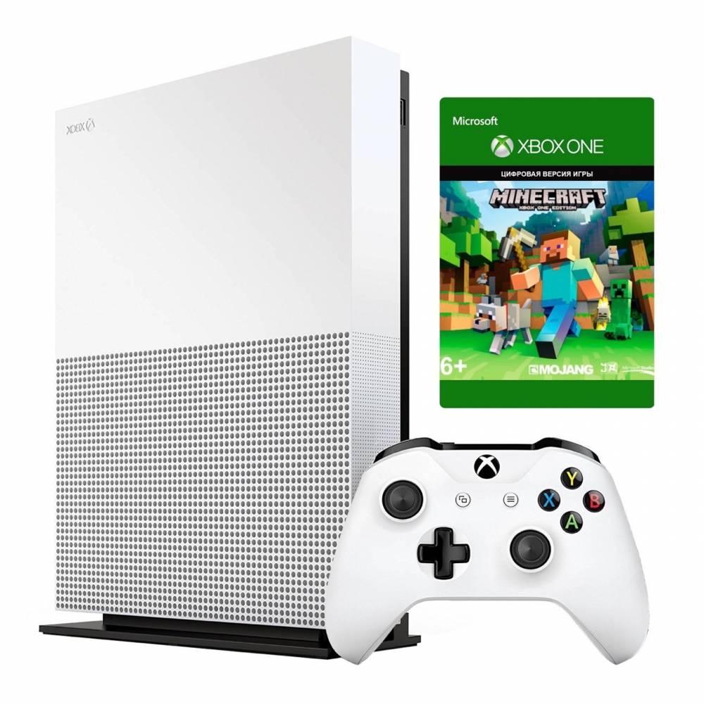 Microsoft Xbox One S 1 Тб All-Digital Edition + Minecraft (Xbox One S All-Digital) фото 2