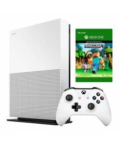 Microsoft Xbox One S 1 Тб All-Digital Edition + Minecraft