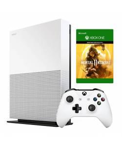 Microsoft Xbox One S 1 Тб All-Digital Edition + Mortal Kombat 11