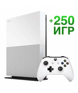 Microsoft Xbox One S 1 Тб All-Digital Edition + 250 игр