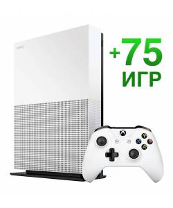 Microsoft Xbox One S 1 Тб All-Digital Edition + 75 игр