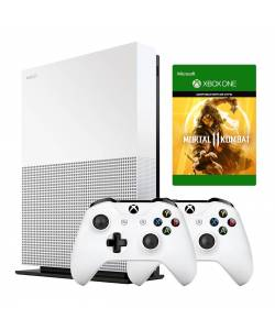 Microsoft Xbox One S 1 Тб All-Digital Edition + Xbox Wireless Controller + Mortal Kombat 11