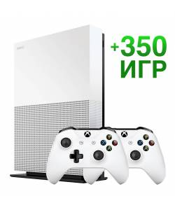 Microsoft Xbox One S 1 Тб All-Digital Edition + Xbox Wireless Controller + 350 ігор на 6 місяців
