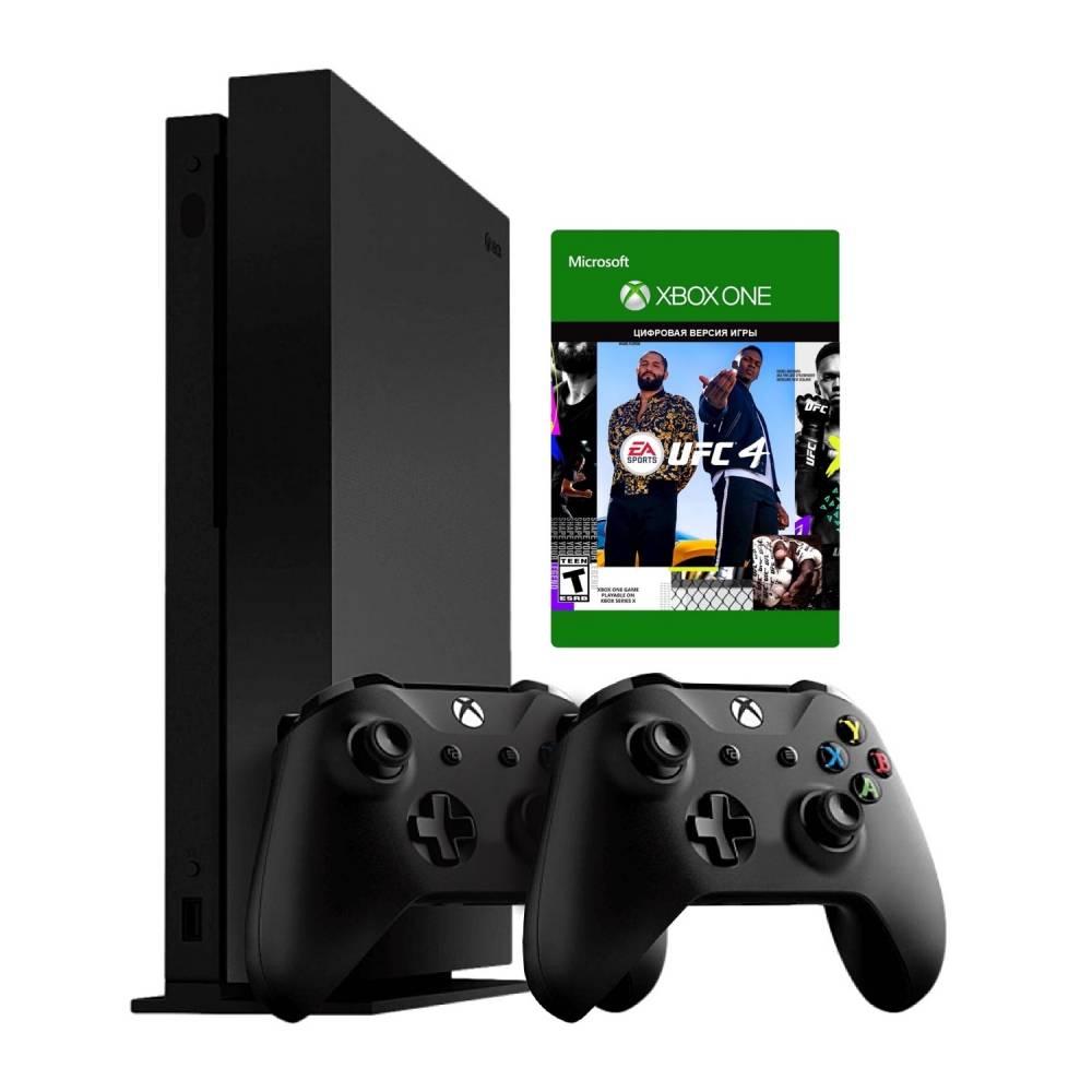Microsoft Xbox One X 1 Тб + Xbox Wireless Controller + UFC4 (Xbox One X) фото 2