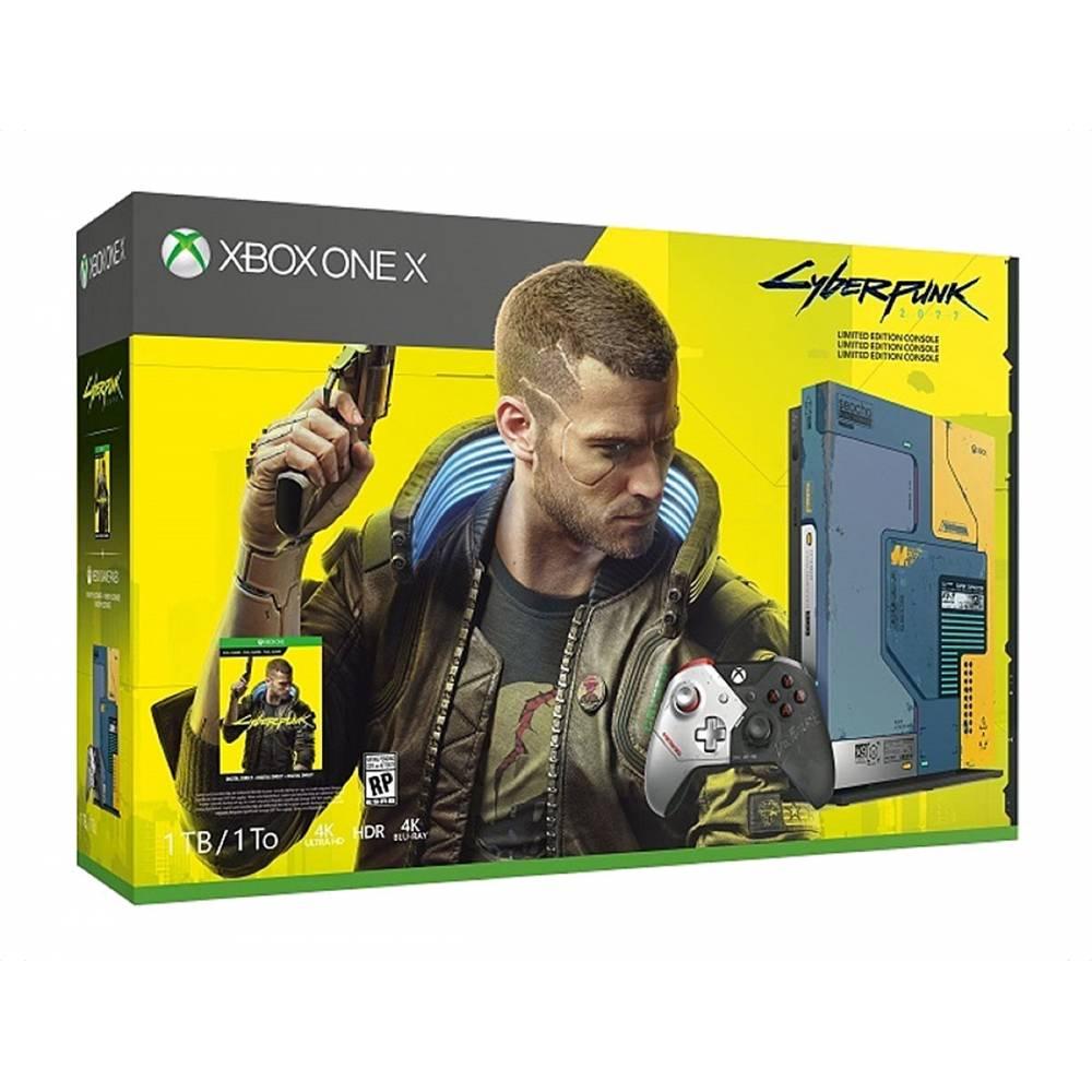 Microsoft Xbox One X 1 Тб Cyberpunk 2077 Limited Edition Bundle (Xbox One X) фото 4