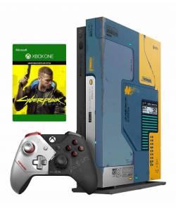 Microsoft Xbox One X 1 Тб Cyberpunk 2077 Limited Edition Bundle