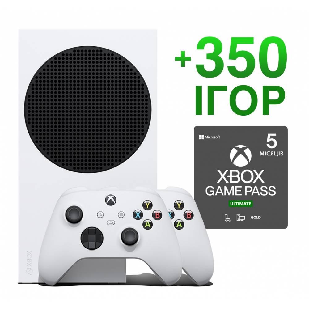 Microsoft Xbox Series S 512 Гб + Xbox Series Wireless Controller + 350 игр на 5 месяцев (Xbox Series S) фото 2