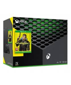 Microsoft Xbox Series X 1 Тб Cyberpunk 2077 Bundle