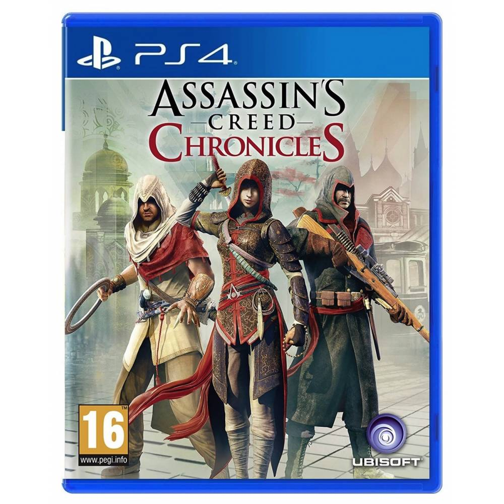 Assassin's Creed Chronicles (PS4/PS5) (Російські субтитри) (Assassin's Creed Chronicles (PS4/PS5) (RU)) фото 2