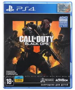 Call of Duty: Black Ops 4 (PS4) (Русская версия)