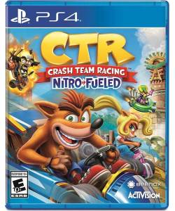 Crash Team Racing CTR Nitro-Fueled (PS4) (Англійська версія)