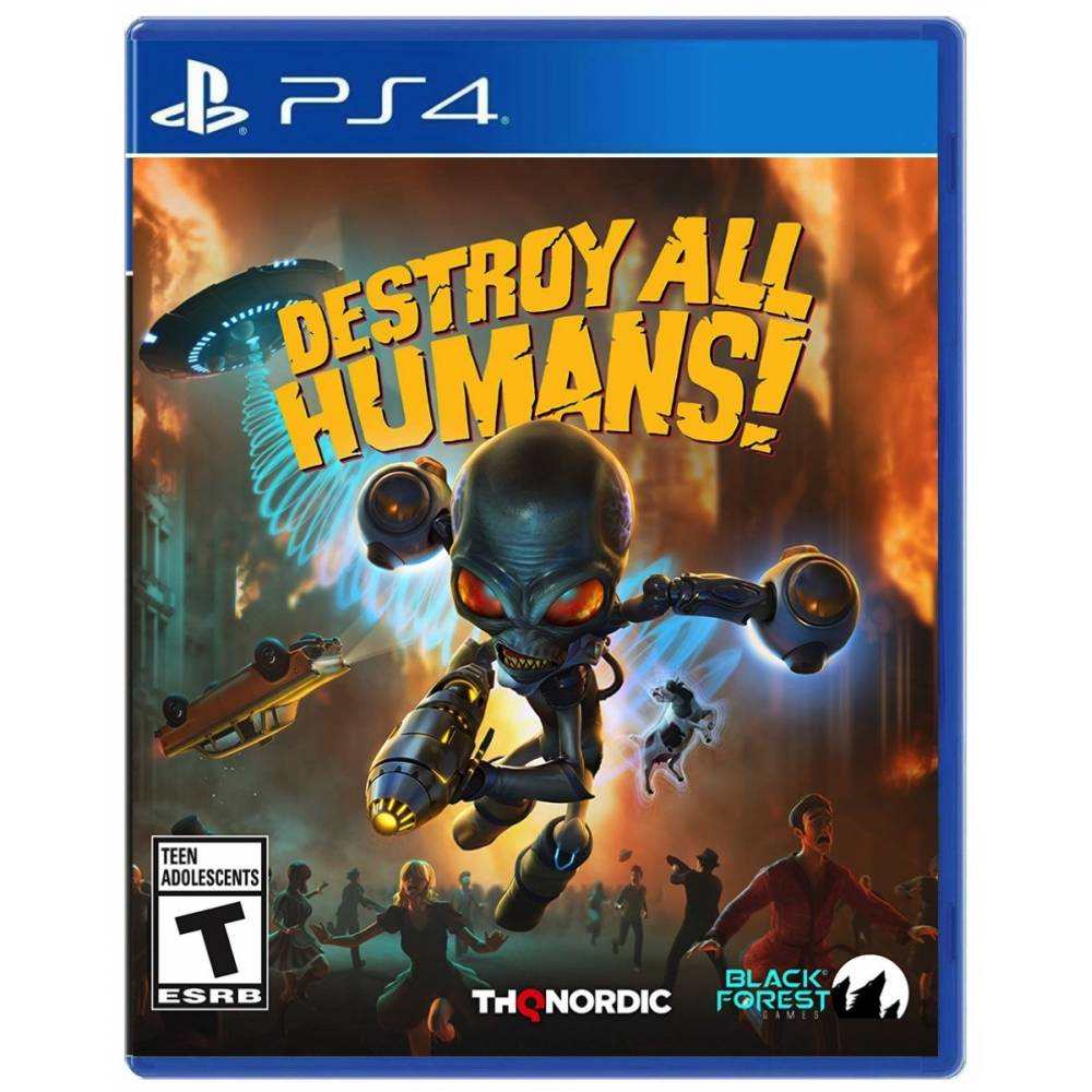 Destroy All Humans! (PS4/PS5) (Русские субтитры) (Destroy All Humans! (PS4/PS5) (RU)) фото 2