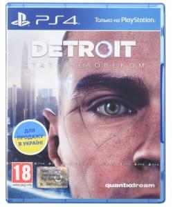 Detroit: Become Human (Detroit: Стать человеком) (PS4) (Русская версия)