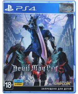 Devil May Cry 5 (PS4/PS5) (Русские субтитры)
