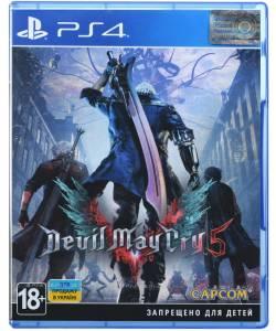 Devil May Cry 5 (PS4) (Русская версия)