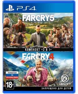 Far Cry 4 + Far Cry 5 (PS4/PS5) (Русская озвучка)