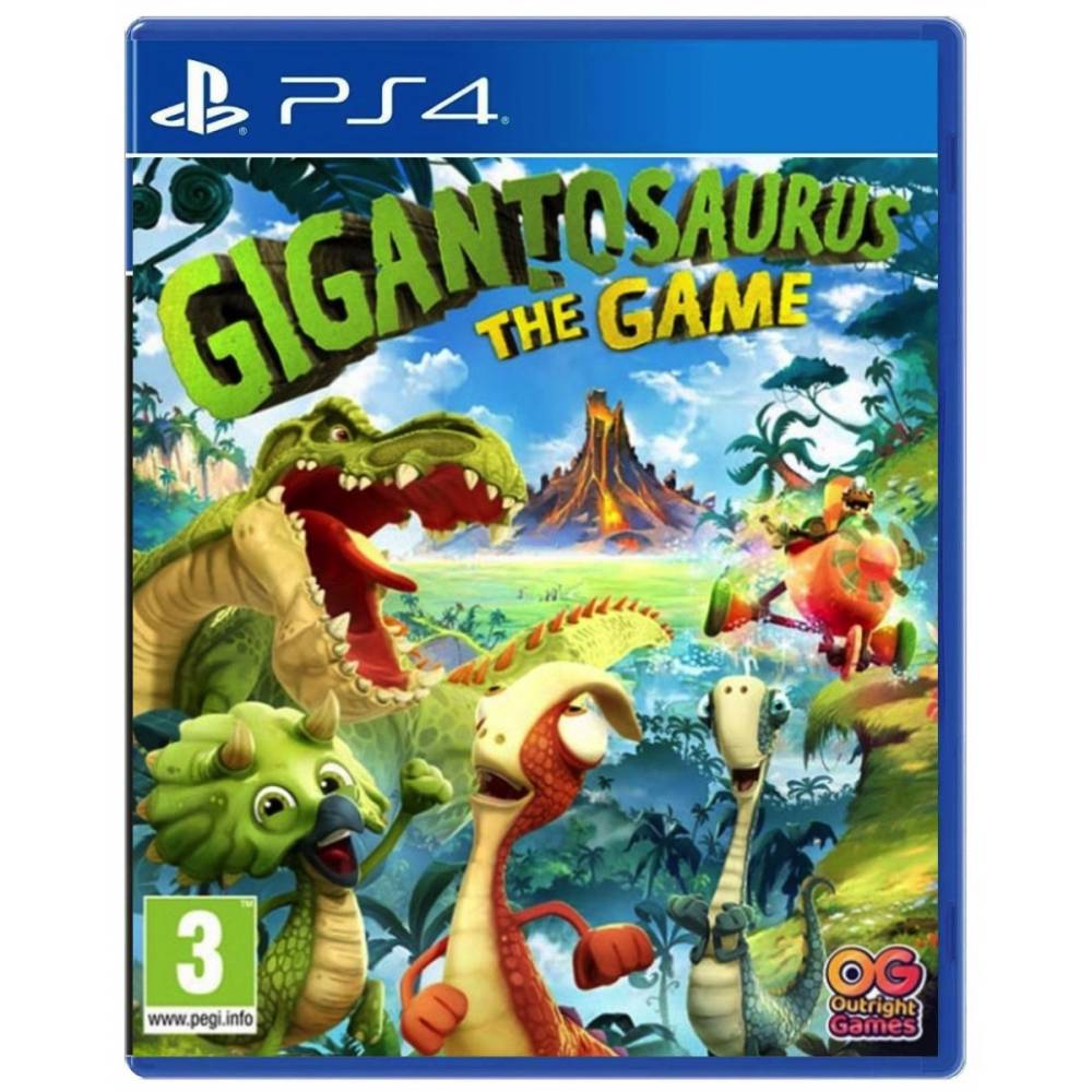 Gigantosaurus: The Game (PS4/PS5) (Російська озвучка) (Gigantosaurus: The Game (PS4/PS5) (RU)) фото 2
