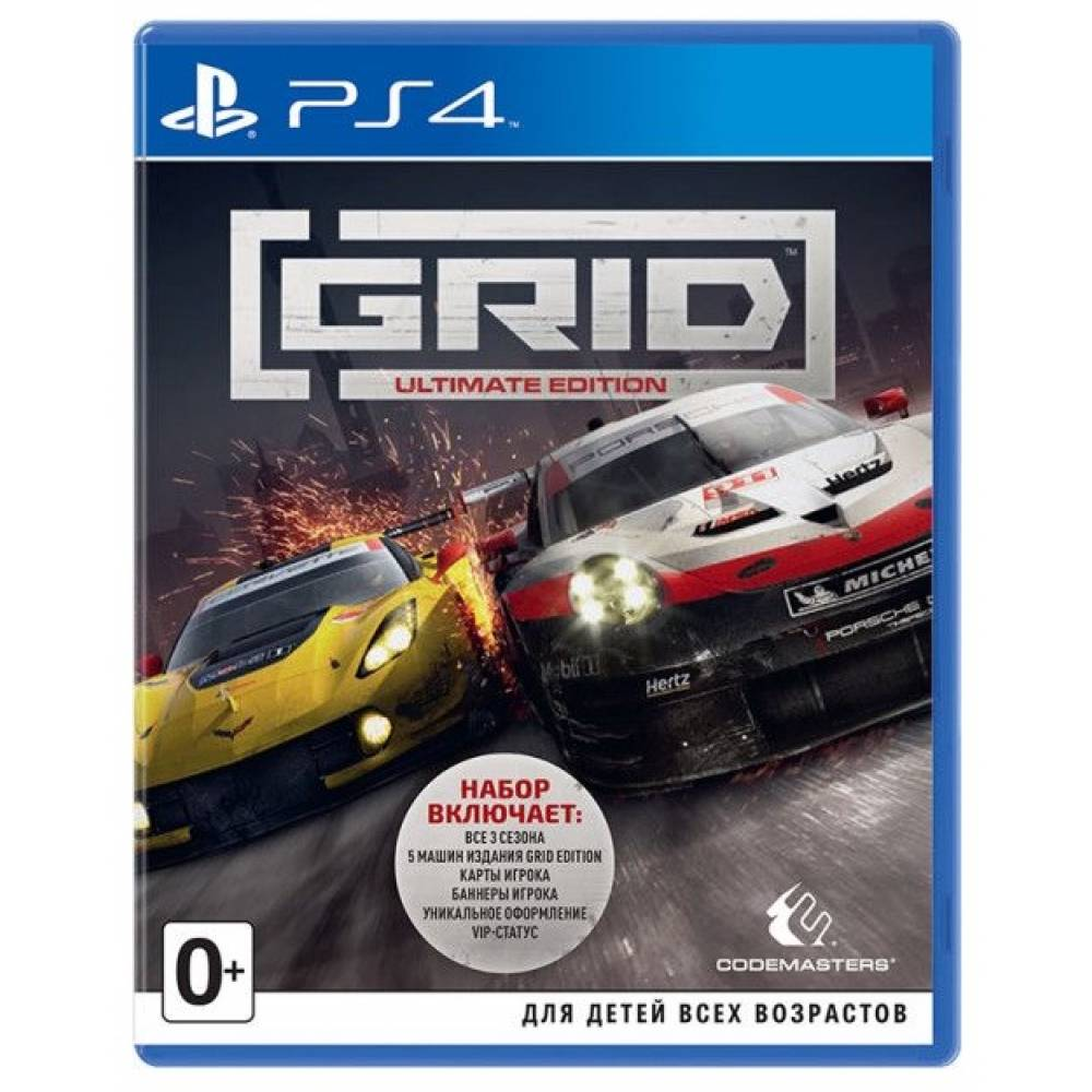 GRID Ultimate Edition (PS4/PS5) (Английская версия) (GRID Ultimate Edition (PS4/PS5) (EN)) фото 2