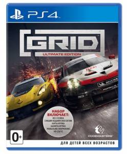 GRID Ultimate Edition (PS4/PS5) (Английская версия)