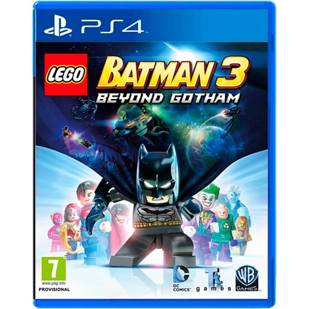 LEGO Batman 3: Beyond Gotham (LEGO Batman 3: Залишаючи Готем) (PS4) (Російська версія) (LEGO Batman 3: Beyond Gotham (PS4) (RU)) фото 2