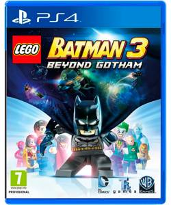 LEGO Batman 3: Beyond Gotham (LEGO Batman 3: Залишаючи Готем) (PS4) (Російська версія)
