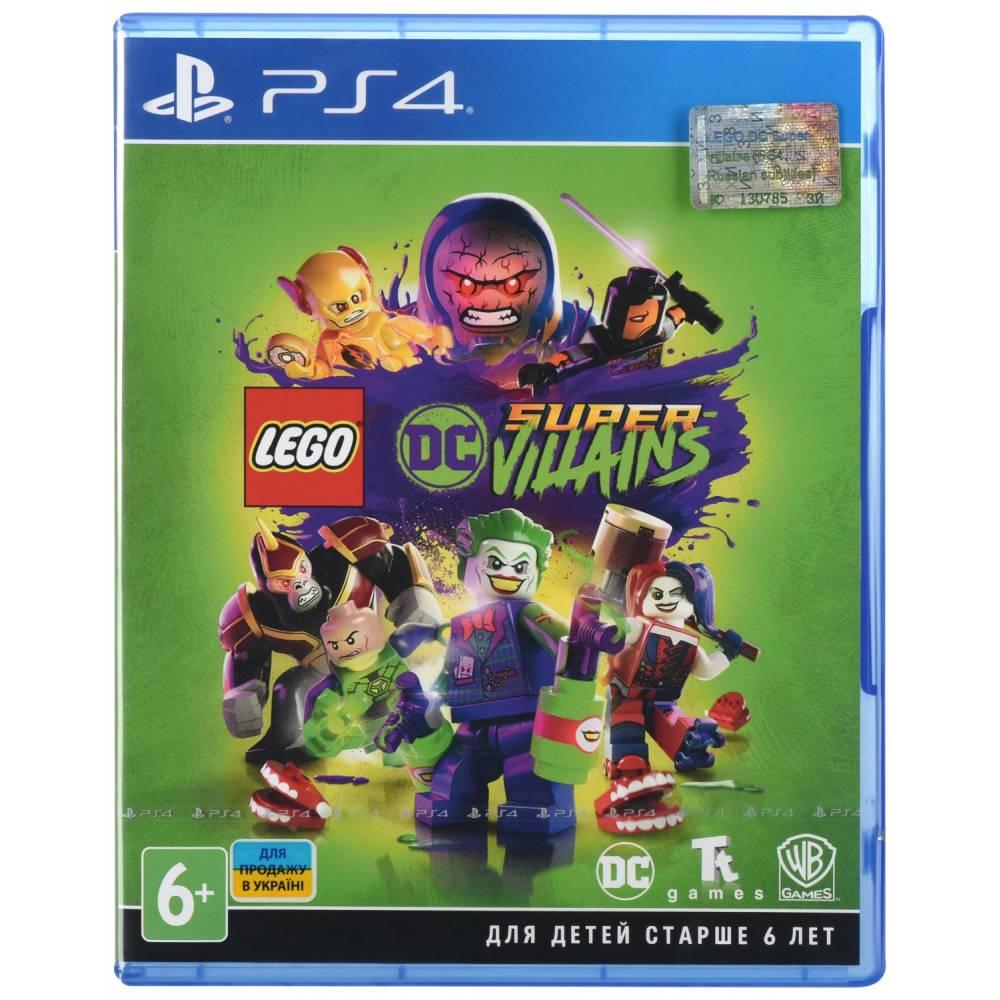 LEGO DC Super-Villains (LEGO Суперзлодії DC) (PS4) (Російська версія) (LEGO DC Super-Villains (PS4) (RU)) фото 2