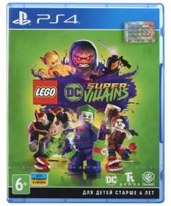 LEGO DC Super-Villains (LEGO Суперзлодії DC) (PS4) (Російська версія)
