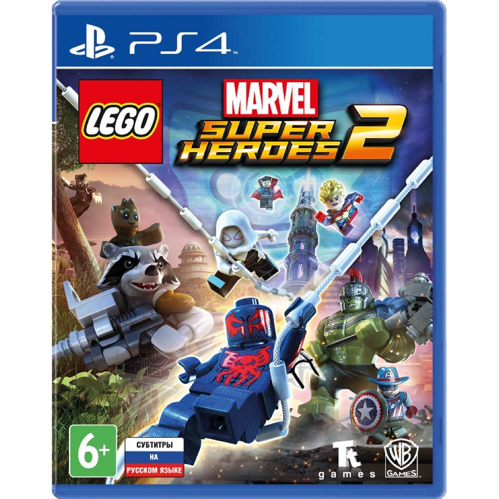 LEGO Marvel Super Heroes 2 (PS4/PS5) (Русские субтитры) (LEGO Marvel Super Heroes 2 (PS4/PS5) (RU)) фото 2