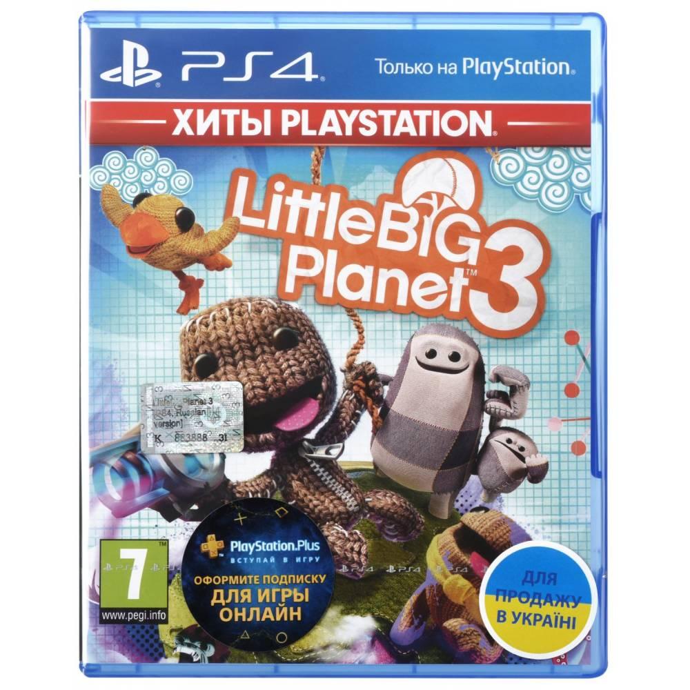 LittleBigPlanet 3 (PS4/PS5) (Русская озвучка) (LittleBigPlanet 3 (PS4/PS5) (RU)) фото 2