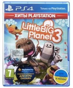 LittleBigPlanet 3 (PS4) (Російська версія)
