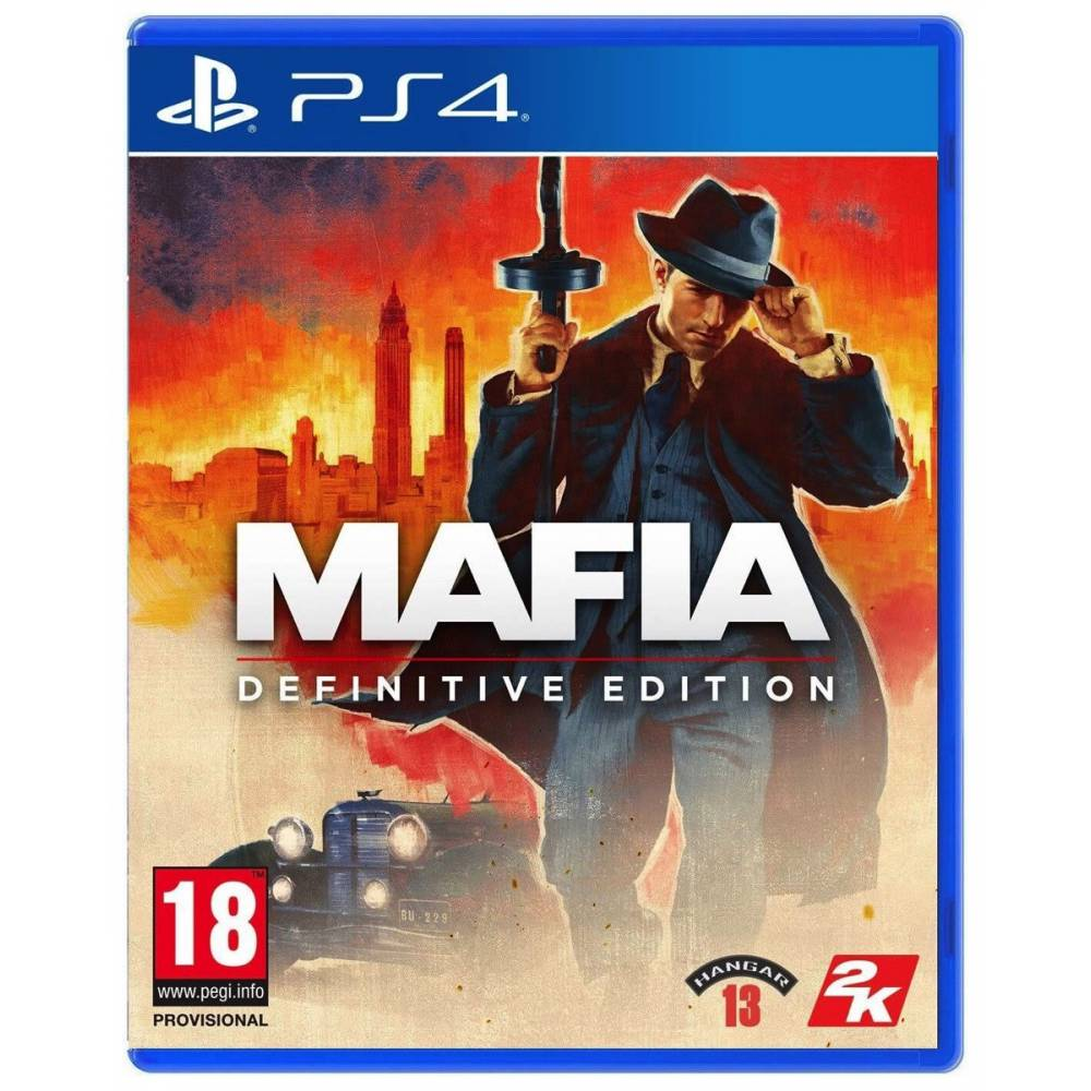 Mafia: Definitive Edition (Постер + набор Chicago) (PS4/PS5) (Русская озвучка) (Mafia: Definitive Edition (PS4/PS5) (RU)) фото 2