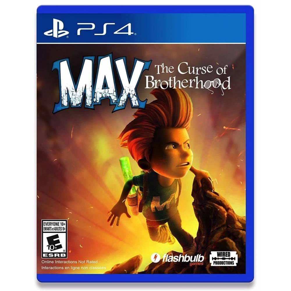 Max: The Curse of Brotherhood (PS4/PS5) (Англійська версія) (Max: The Curse of Brotherhood (PS4/PS5) (EN)) фото 2