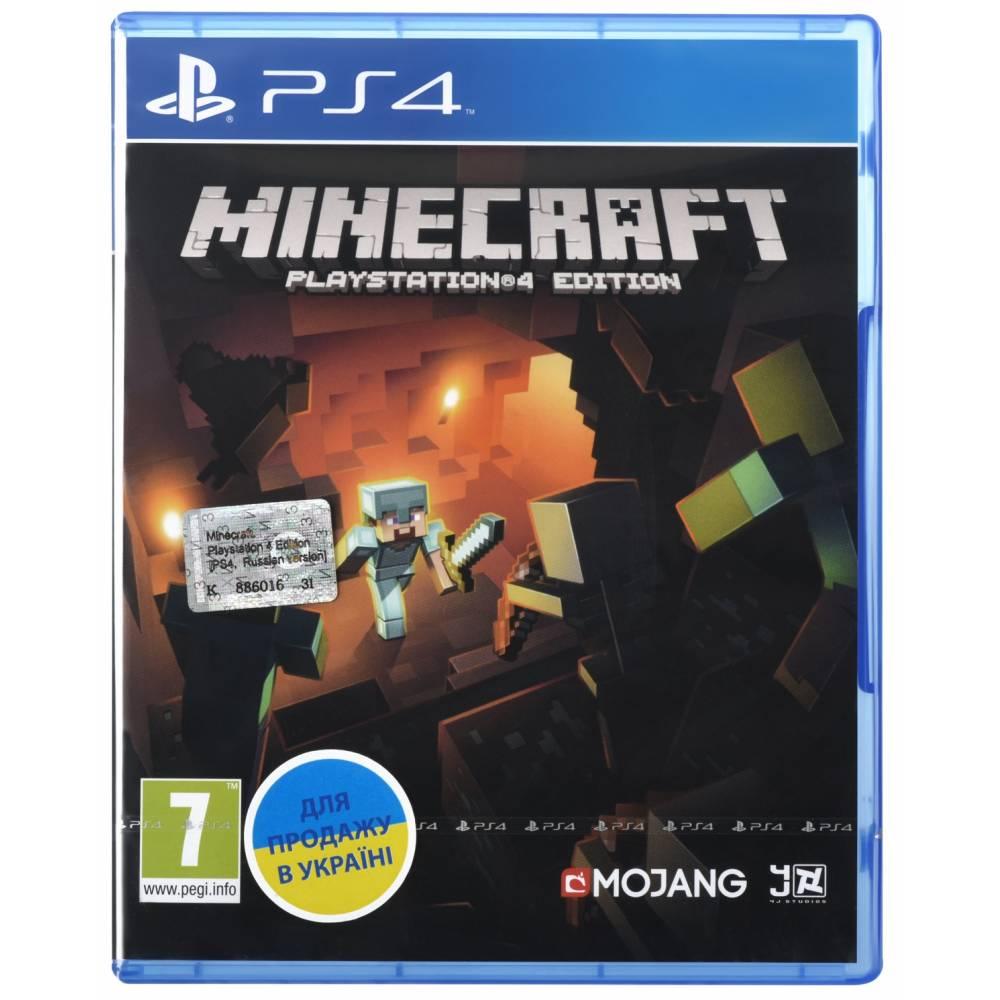 Minecraft (PS4) (Русская версия) (Minecraft (PS4) (RU)) фото 2
