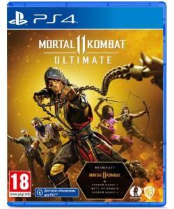 Mortal Kombat 11 Ultimate (PS4/PS5) (Російські субтитри)