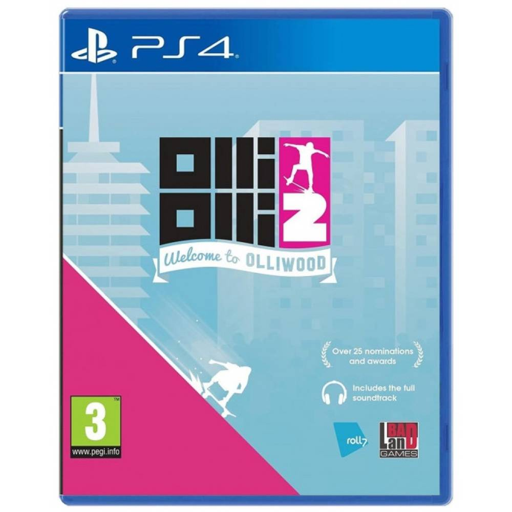 OlliOlli 2: Welcome to Olliwood (PS4/PS5) (Англійська версія) (OlliOlli 2: Welcome to Olliwood (PS4/PS5) (EN)) фото 2