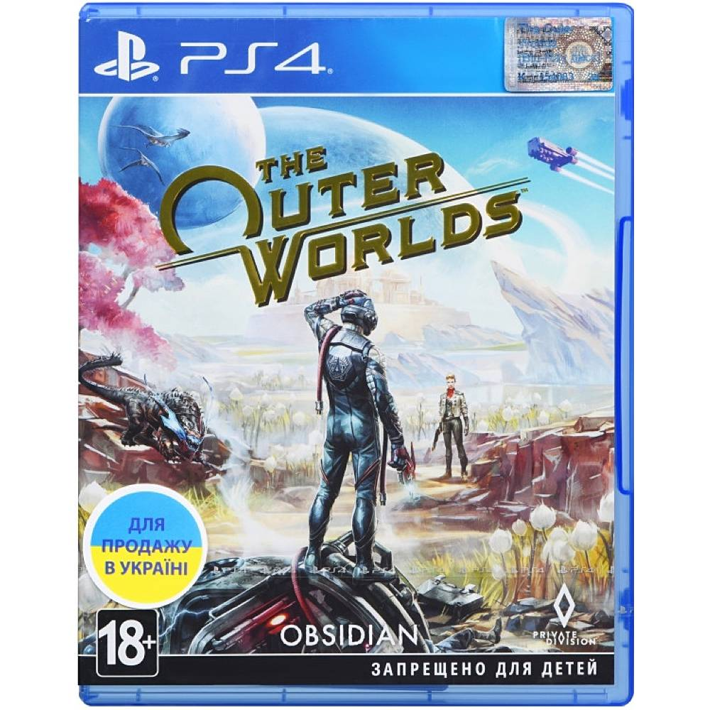 The Outer Worlds (PS4) (Русская версия) (The Outer Worlds (PS4) (RU)) фото 2