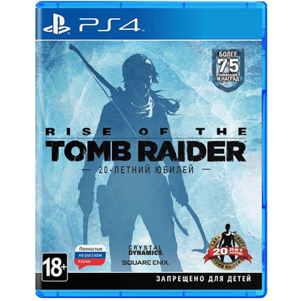 Rise of the Tomb Raider: 20 Year Celebration (Rise of the Tomb Raider: 20-летний юбилей) (PS4/PS5) (Русская озвучка) (Rise of the Tomb Raider: 20 Year Celebration (PS4/PS5) (RU)) фото 2