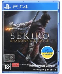 Sekiro: Shadows Die Twice (PS4/PS5) (Російські субтитри)