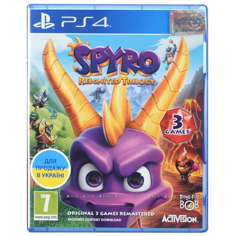 Spyro Reignited Trilogy (PS4/PS5) (Английская версия) (Spyro Reignited Trilogy (PS4/PS5) (RU)) фото 2